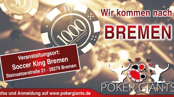 Veranstaltungsort - Live Poker Veranstaltung, Bremen